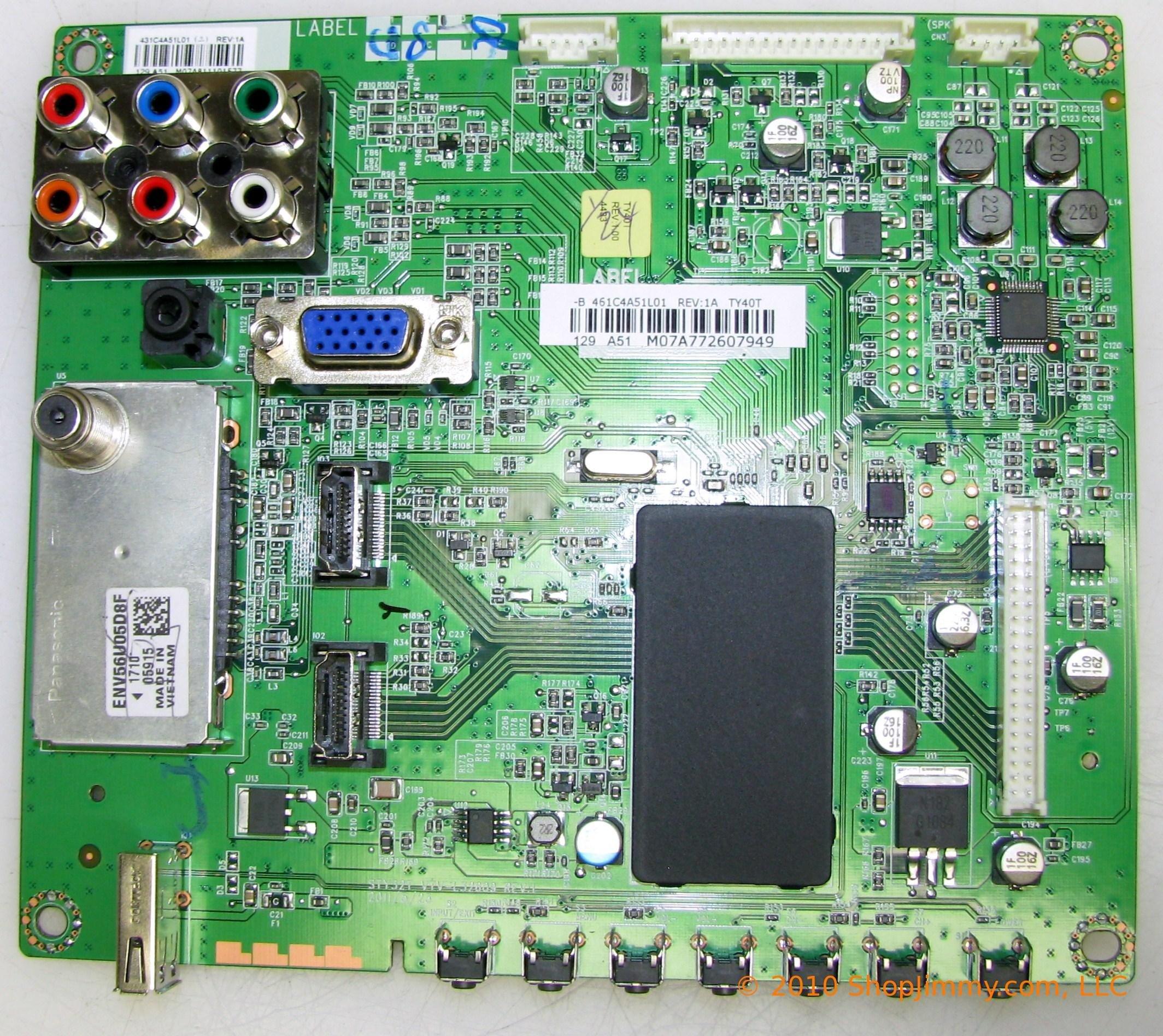 Toshiba 75025867 Main Board for 40FT2U by Toshiba