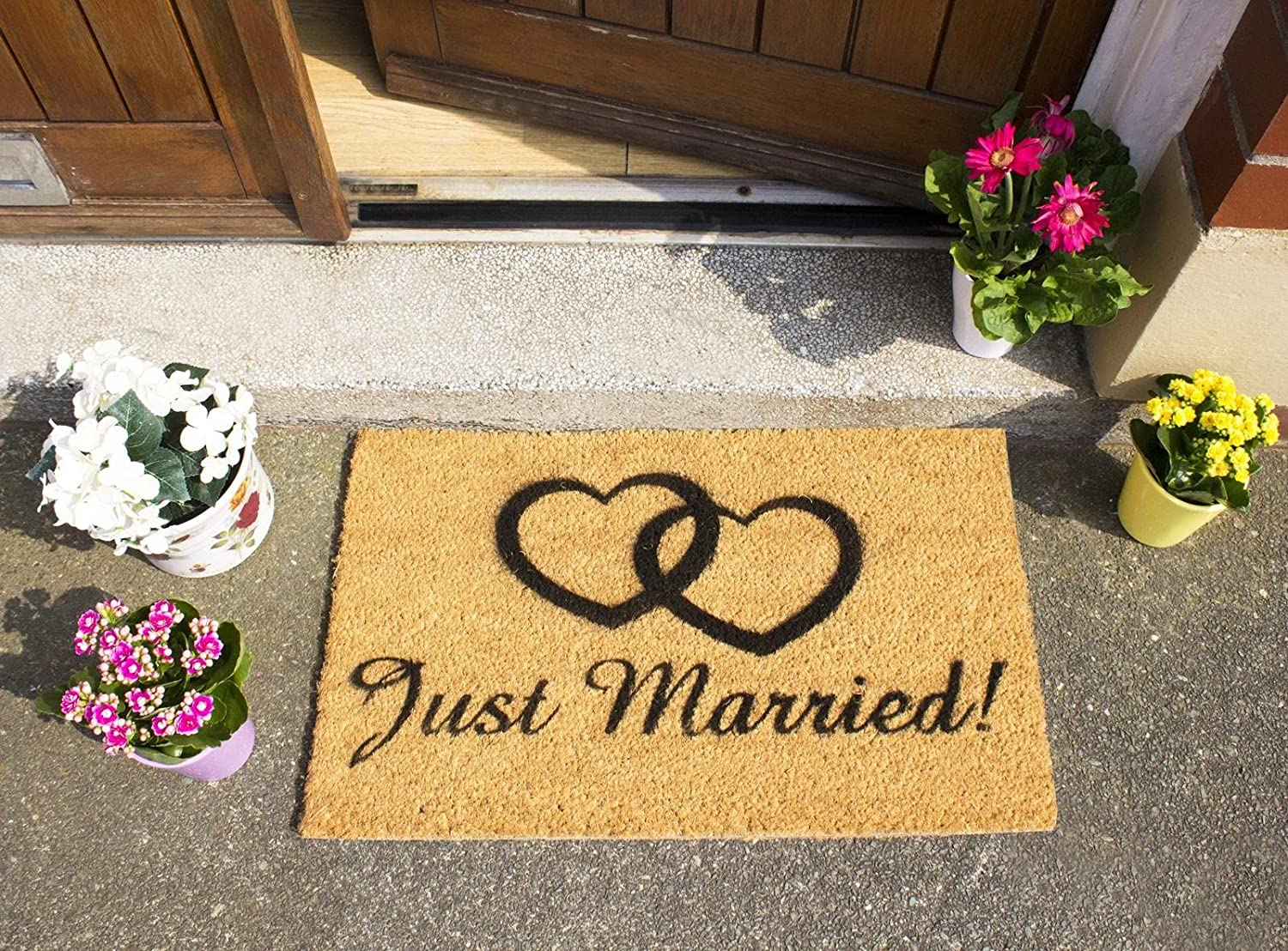Ckb Ltd 174 Funny Door Mat Outdoor Indoor Front Coir Doormat