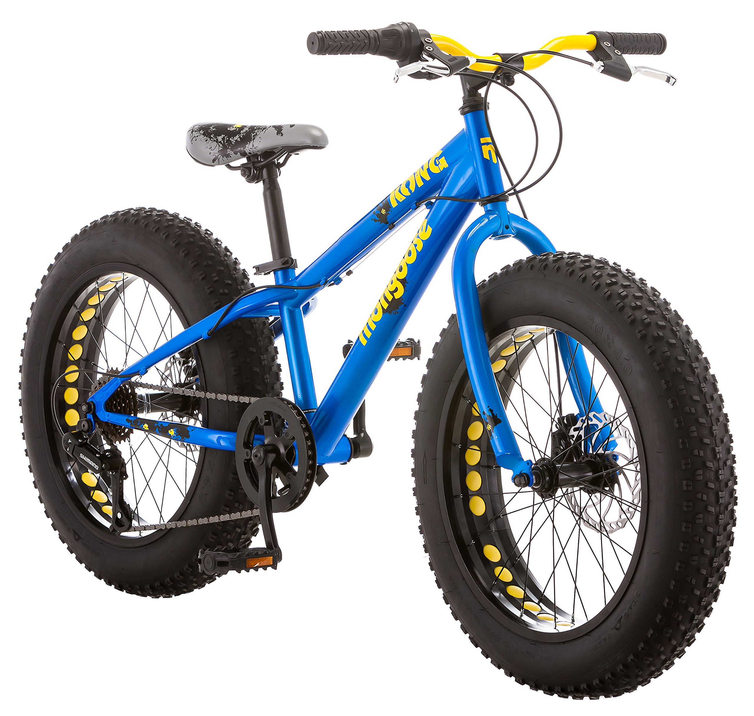 Mongoose Kong Boy's Fat Tire Bike, 20''