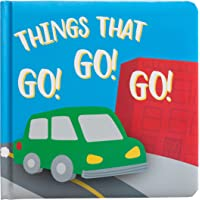 Kate & Milo City Cars Board Book for Babies, Things That Go, Toddler or Baby Nursery Learning Book