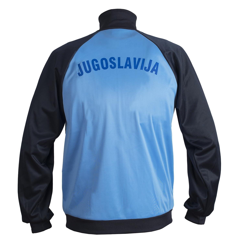 JL Sport Yugoslavia 1980 Chaqueta Fútbol Nacional Fútbol Retro del ...