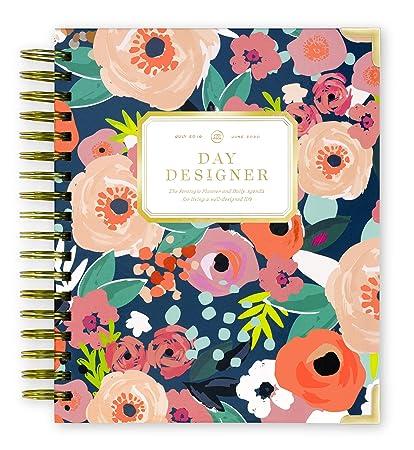 Day Designer 2019-2020 Planificador diario y agenda, tapa ...