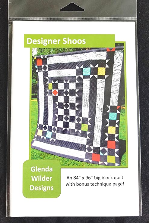 Designer Shoos Quilt Pattern from Glenda Wilder Designs