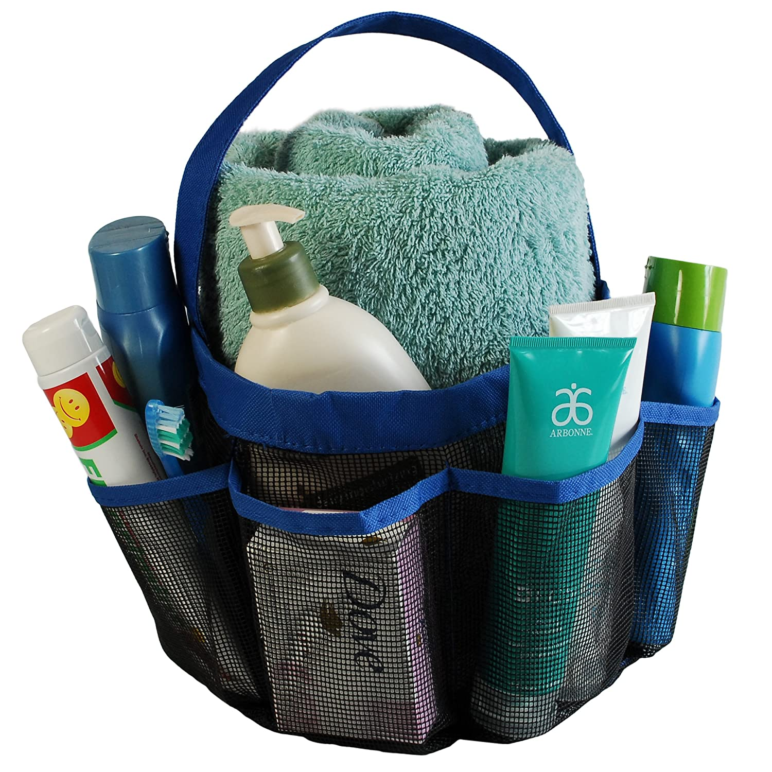 Amazon.com: #1 Best Quality Lebogner Quick Dry Shower Caddy Tote Bag ...