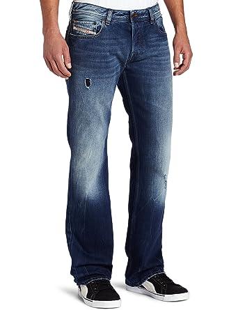 3bd3f8cb Diesel Men's Zatiny Slim Micro Bootcut Leg Jean 0885W, Denim, 40x34 ...