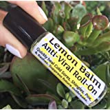 "LEMON BALM Cold Sore & Shingles ROLL-ON! 10 ml, Quickly soothe Blisters, Chicken Pox, Rashes, Herpes, Molluscum, Bug Bites. Suppress future outbreaks. 100% Natural. ""Goodbye, itchy red bumps!"""