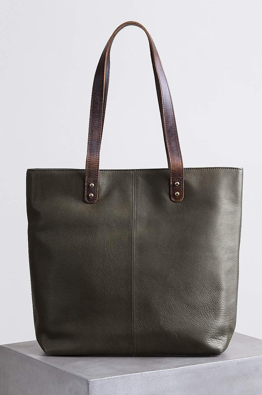 Amazon.com  Aurora Leather Tote Bag  Shoes 8aad95c6d6e81