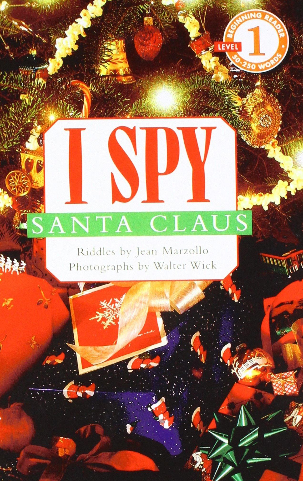 Read Online I Spy Santa Claus (Scholastic Readers: I Spy) PDF