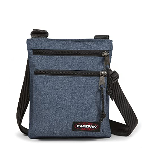 165 opinioni per Eastpak Borsa Messenger Rusher, Blu (Double Denim), 1.5 Litri, 23 x 18 x 2