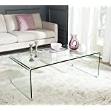 Safavieh Home Collection Willow Clear Coffee Table