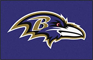 """product image for FANMATS 7408 Baltimore Ravens Rookie Mat (18""""x27""""), 1 Pack"""