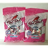 Red Bird Cotton Candy Soft Puffs 4 Oz Bag (2 Pack - 8 Ounces Total)