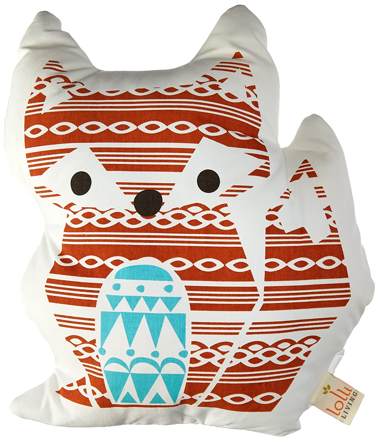 Lolli Living Woods Character Cushion - Fox 223036