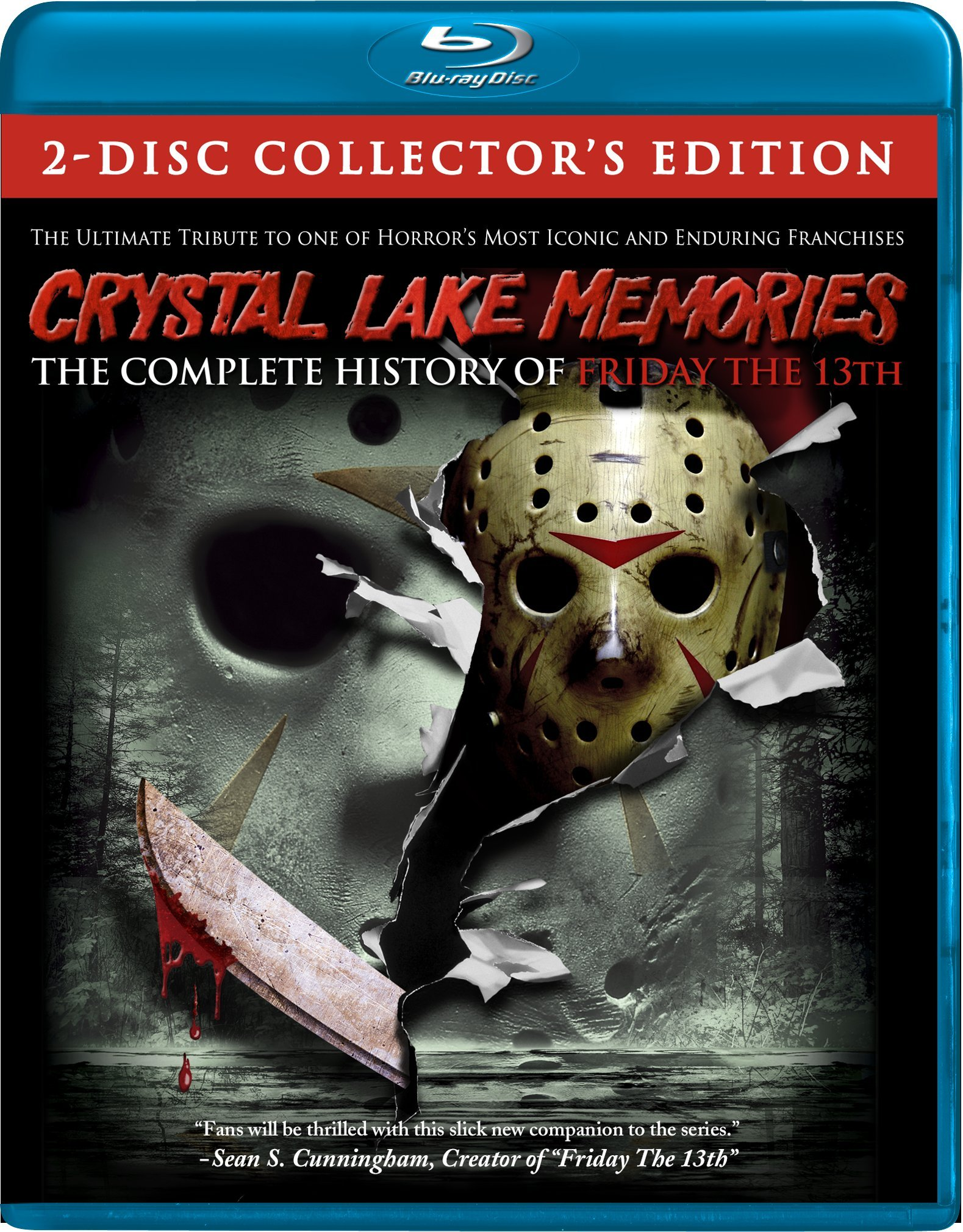 Blu-ray : Crystal Lake Memories: The Complete History of Friday the 13th (Blu-ray)