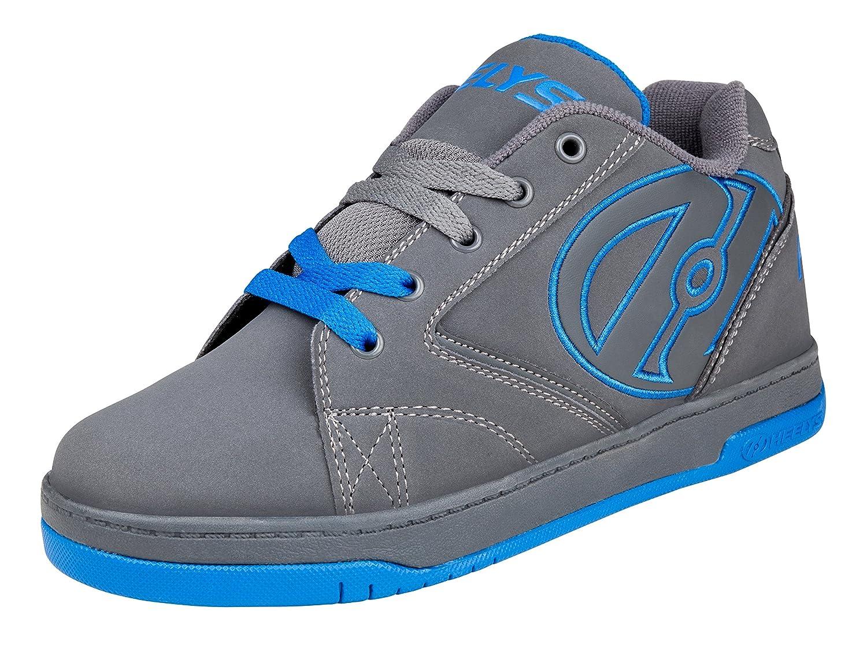 Heelys Propel 2.0 Skate Shoe (Little Kid/Big Kid) B00TFYNQBW 6 M US Big Kid Grey (Grey / Royal)