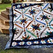 Amazon.com: Smokey River Jelly Roll Quilt Pattern: Arts, Crafts ... : smokey river quilt kit - Adamdwight.com