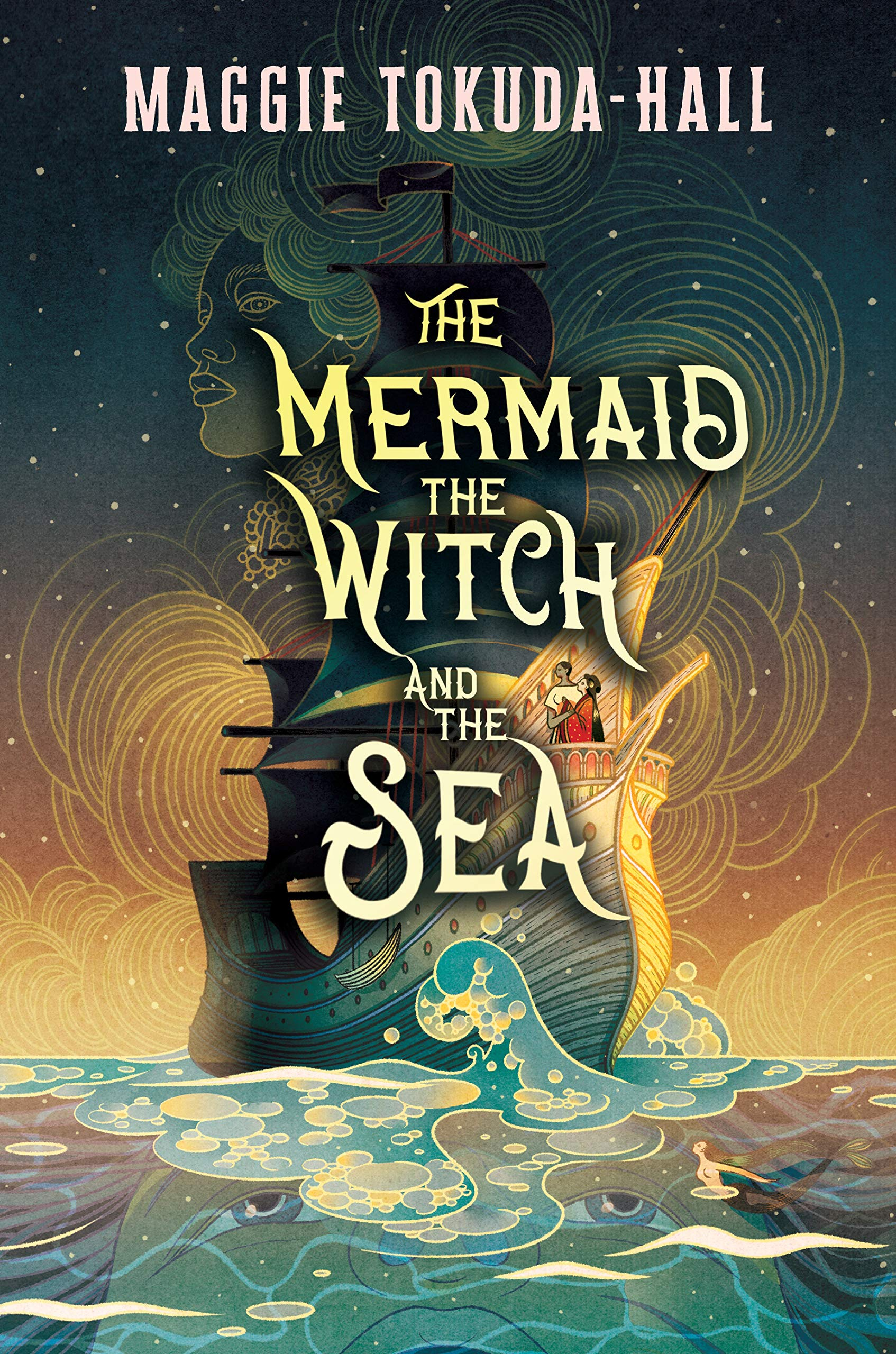Amazon.com: The Mermaid, the Witch, and the Sea (9781536204315):  Tokuda-Hall, Maggie: Books