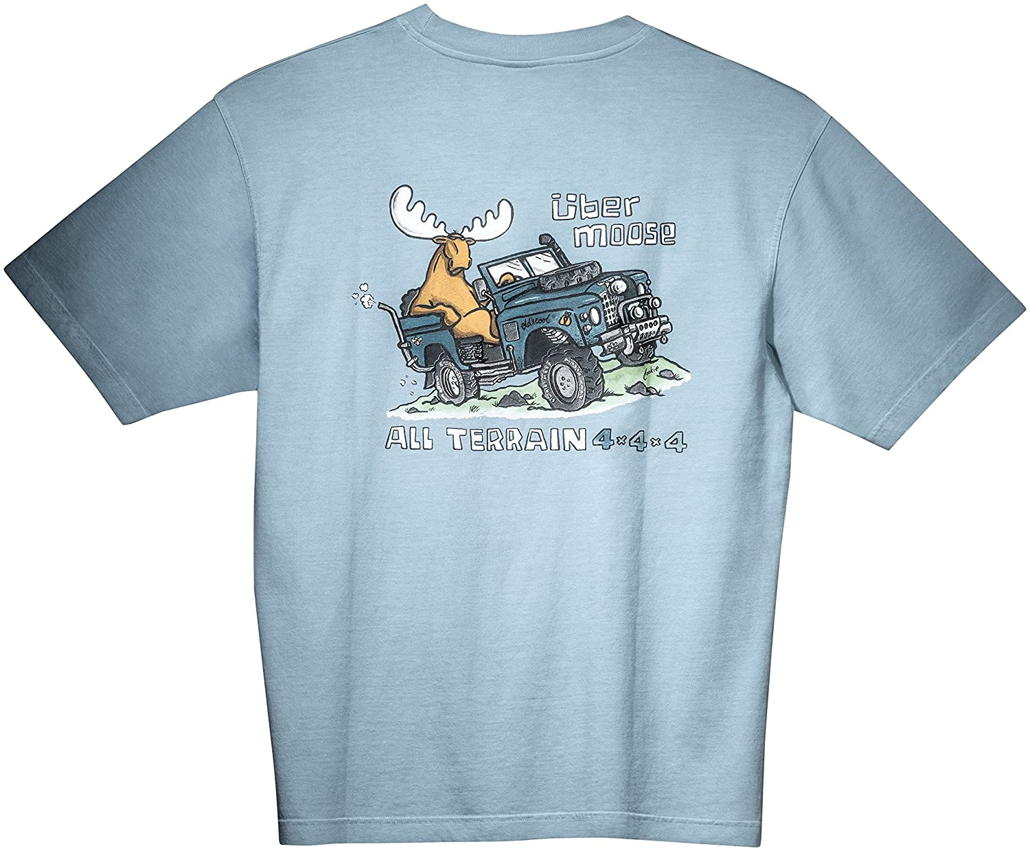 Uber Moose All Terrain Printed T Shirt