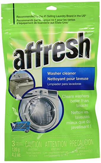 Whirlpool - Affresh High Efficiency Washer Cleaner-Super Pack-18-Tablet