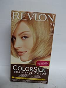 Revlon ColorSilk Hair Color, 71 Golden Blonde 1 ea