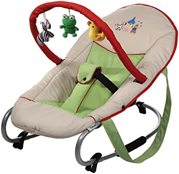 05e199720b5 Hauck Bungee Deluxe Baby Bouncer Chair in Circus Red  Amazon.co.uk  Baby