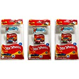 Worlds Smallest Hot Wheels Set of 3 Cars - Bone Shaker, Twin Mill, Rodger Dodger