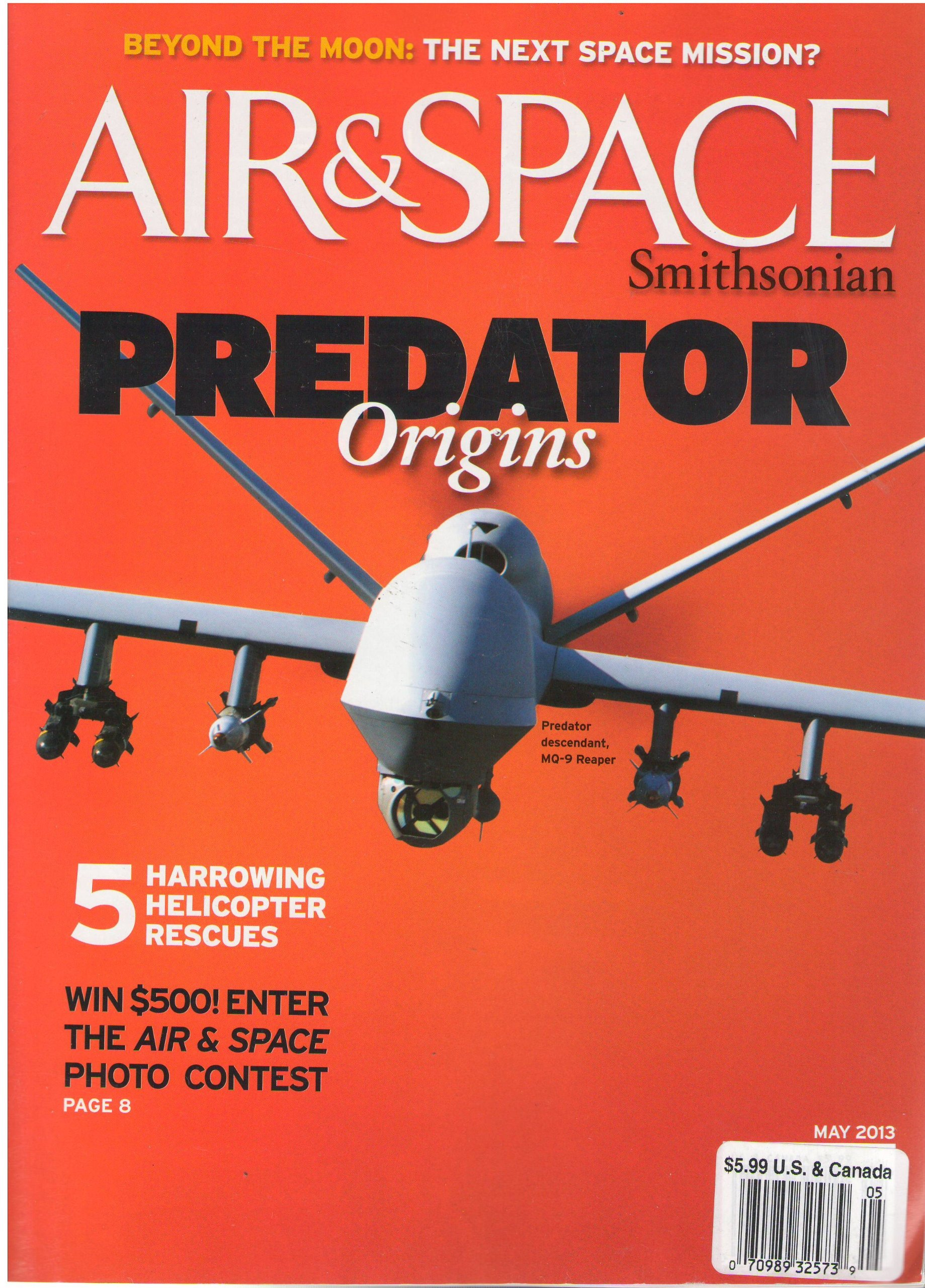 Download Air & Space Smithsonian Magazine May 2013 ebook