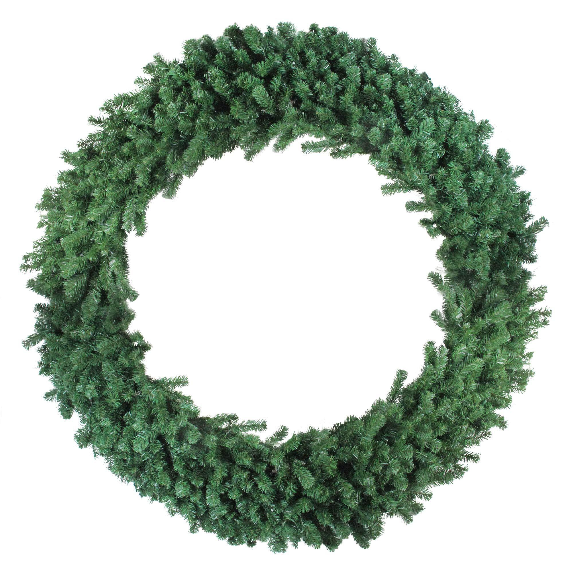 Northlight Deluxe Windsor Pine Artificial Christmas Wreath – 72-inch, Unlit