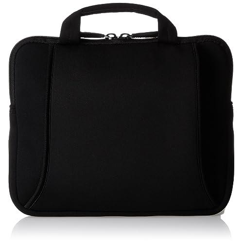 AmazonBasics Sacoche en néoprène avec poignée pour Netbook de 7 à  10 pouces Noir