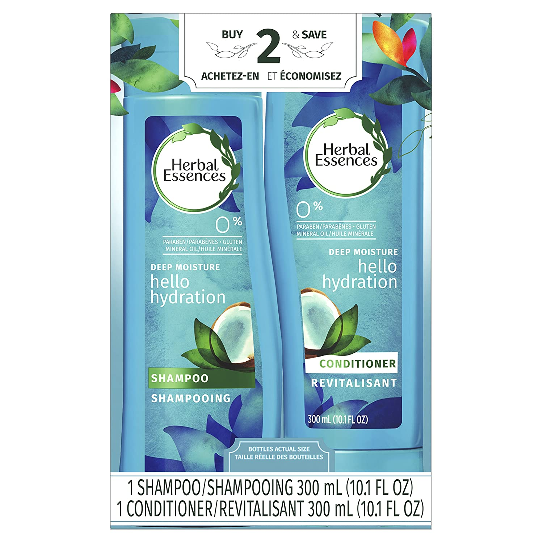 Herbal Essences Hello Hydration 2 in 1 Moisturizing Shampoo & Conditioner, 300 mL NA