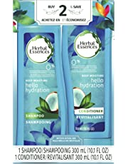 """Herbal Essences Hello Hydration Shampoo and Conditioner with Coconut Essences Dual Pack, 600 mL""""packaging may vary"""""""
