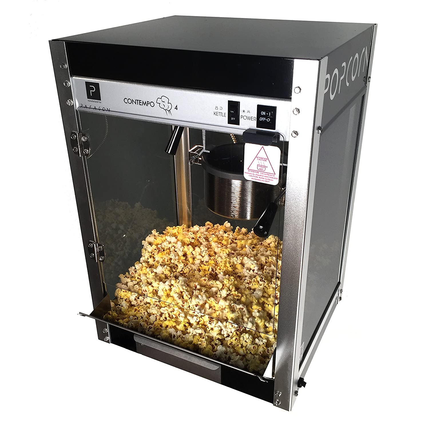 Paragon Contempo Pop 4 Ounce Popcorn Machine for Professional Concessionaires Requiring Commercial Quality High Output Popcorn Equipment