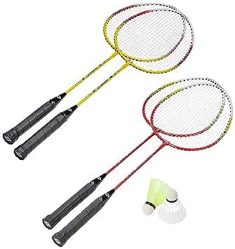 Schildkröt Funsports Badminton In Tasche Federball 4 Spieler Set