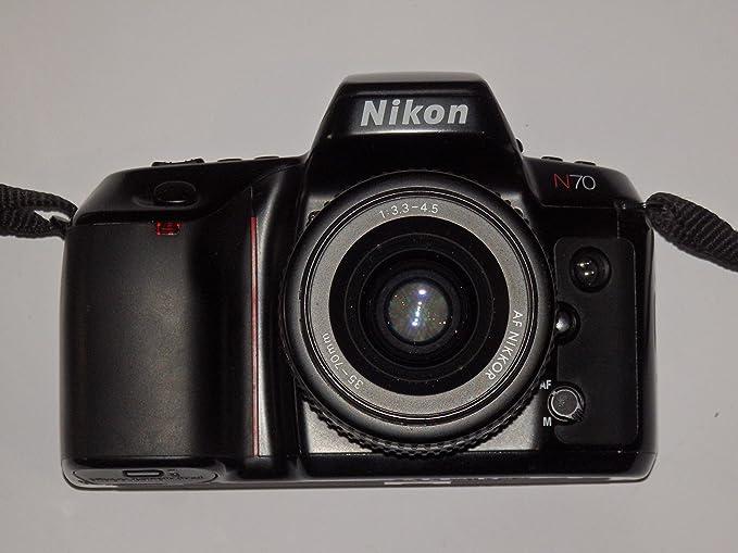 Analógico fotos – Nikon N70 – SLR Camera inclusive lente AF Nikkor ...