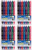 PILOT FriXion Clicker Erasable, Refillable & Retractable Gel Ink Pens, Fine Point, Assorted Color Inks, 7-Pack Pouch…