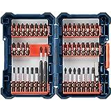 Bosch 44 Piece Impact Tough Screwdriving Custom Case System Set SDMS44