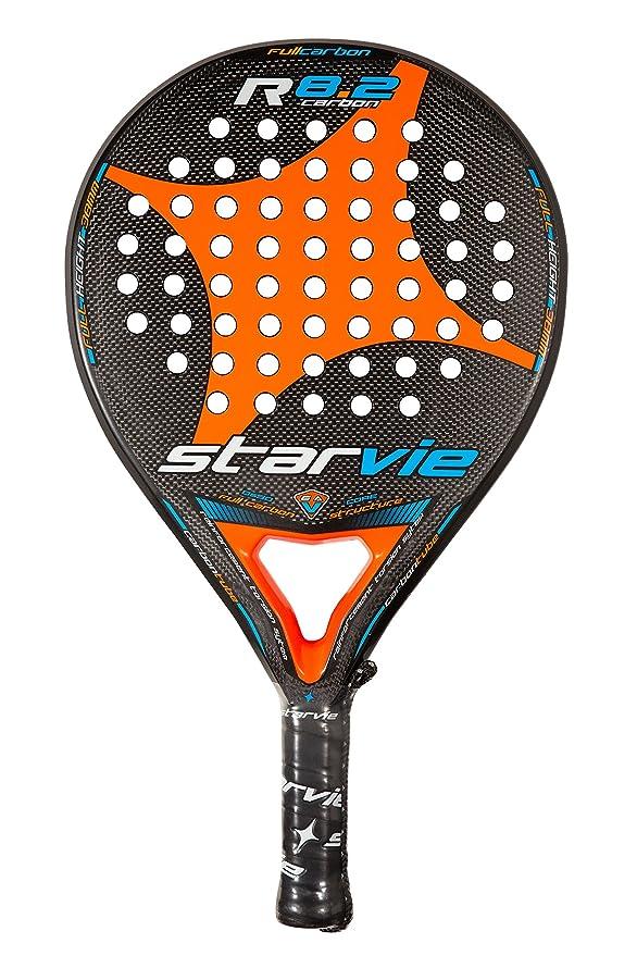 Amazon.com: R 8.2 – de carbono profesional raqueta de padel ...