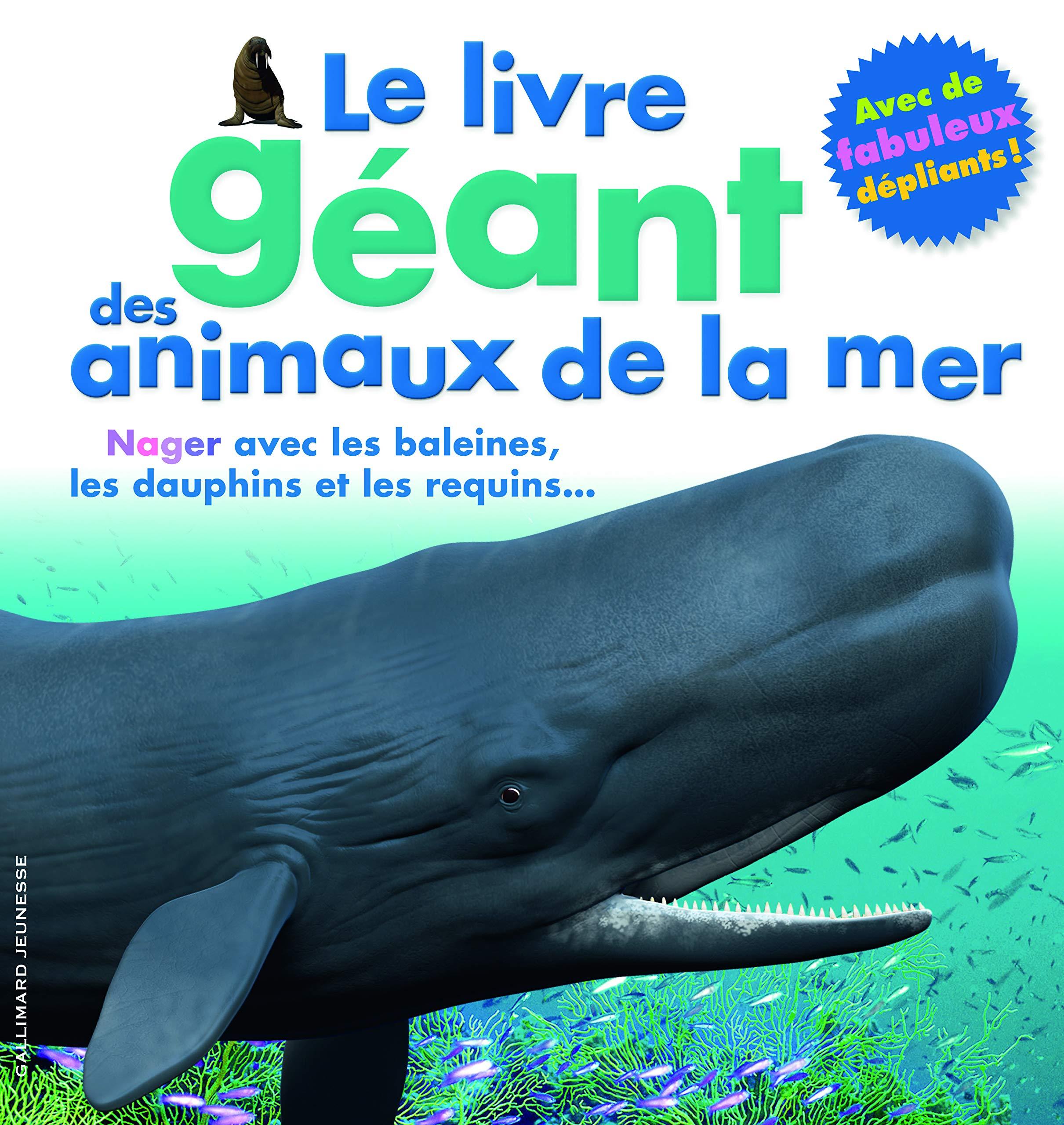 Le Livre Geant Des Animaux De La Mer Collectif