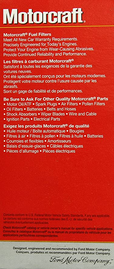 Motorcraft FG1039 Fuel Filter