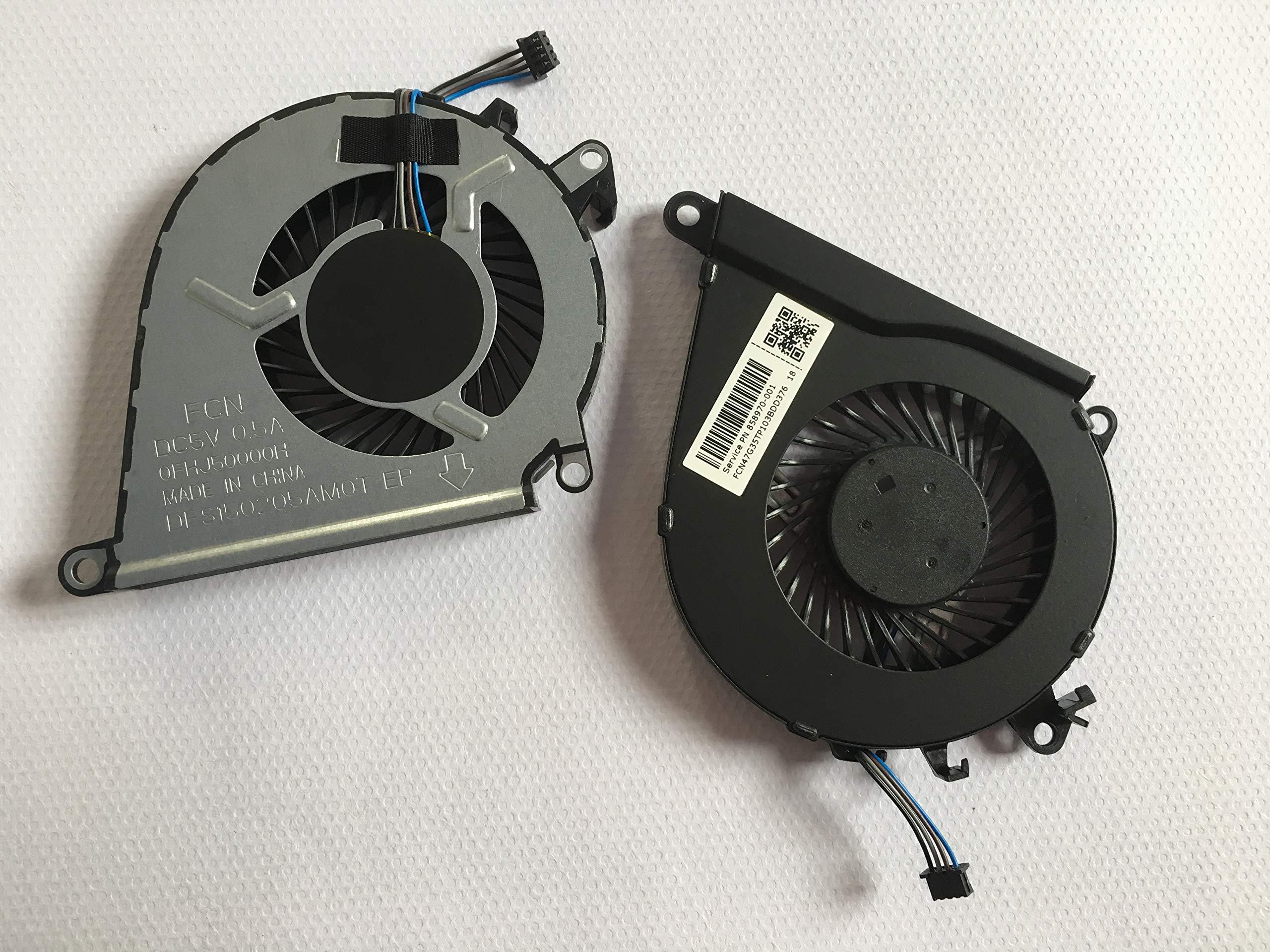 Cooler Para Hp Omen 15-ax 15-ax000 15-ax100 15-ax200 Series