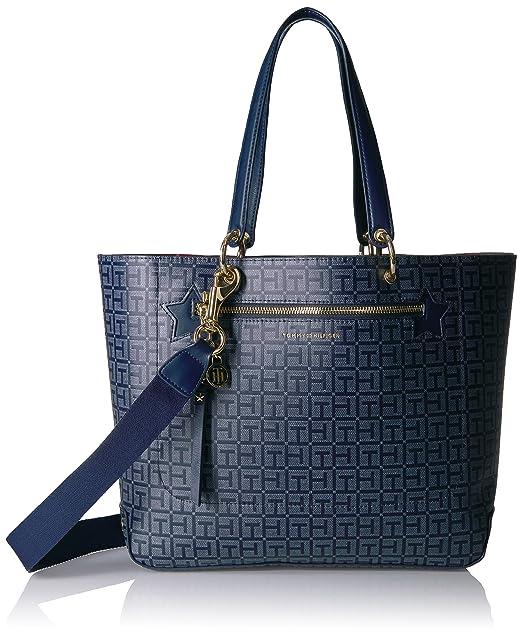 Amazon.com: Tommy Hilfiger - Bolso para mujer, Azul, talla ...