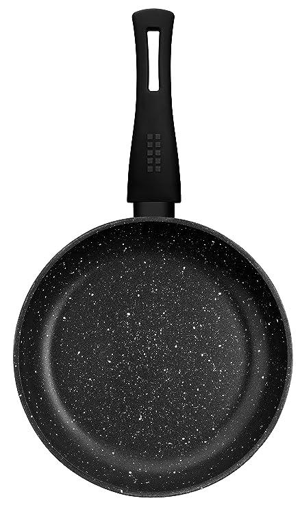 Monix Sartén para saltear, Aluminio, Gris Oscuro Antracita, 28 cm: Amazon.es: Hogar