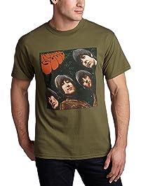 FEA Men's The Beatles Rubber Soul T-Shirt