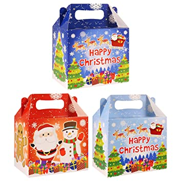 36 Kids Xmas Christmas Party Bag Filler Jigsaw Puzzles With 3D SANTA STICKERS
