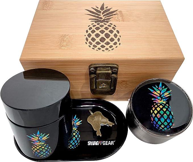 Pineapple Stash Box