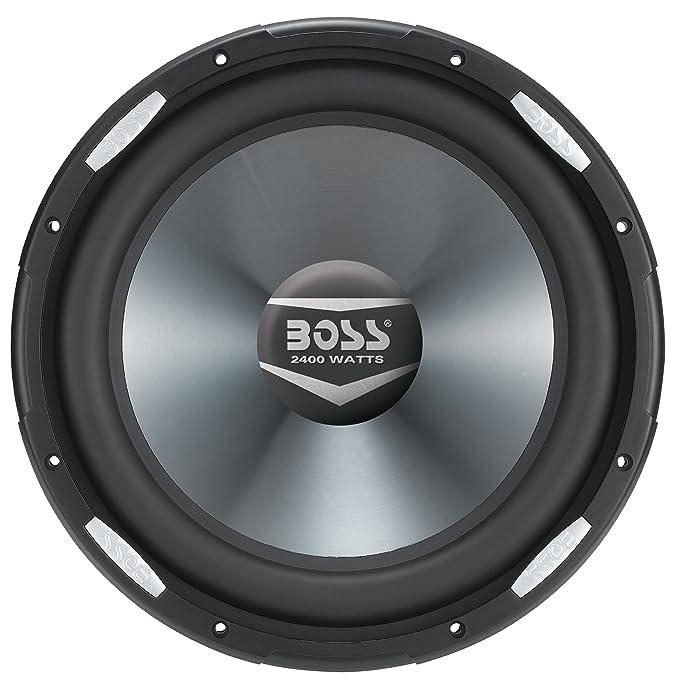 Amazon.com: BOSS Audio AR12D 2400 Watt, 12 Inch, Dual 4 Ohm Voice ...