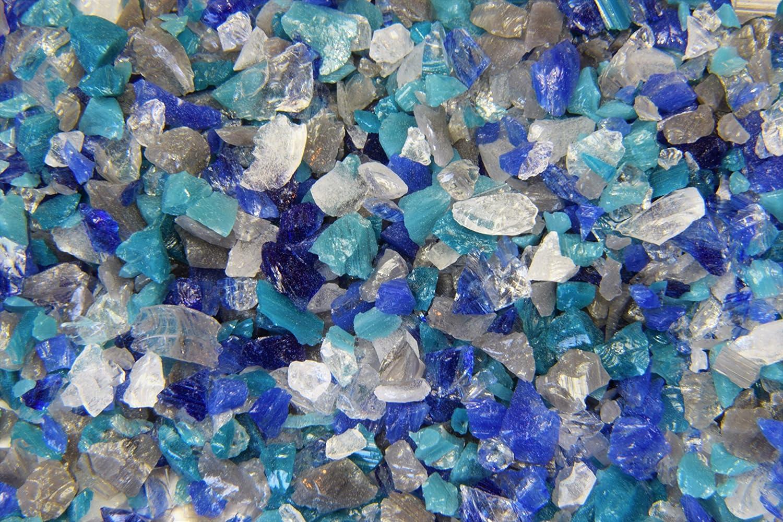 Seascape Devardi Glass COE 33 Boro Frit Course Frit 4 ounce