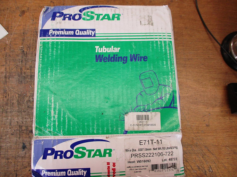 ProStar E71T-11 Wire Dia.030/.8mm 10lbs PRSS222106-722 - - Amazon.com