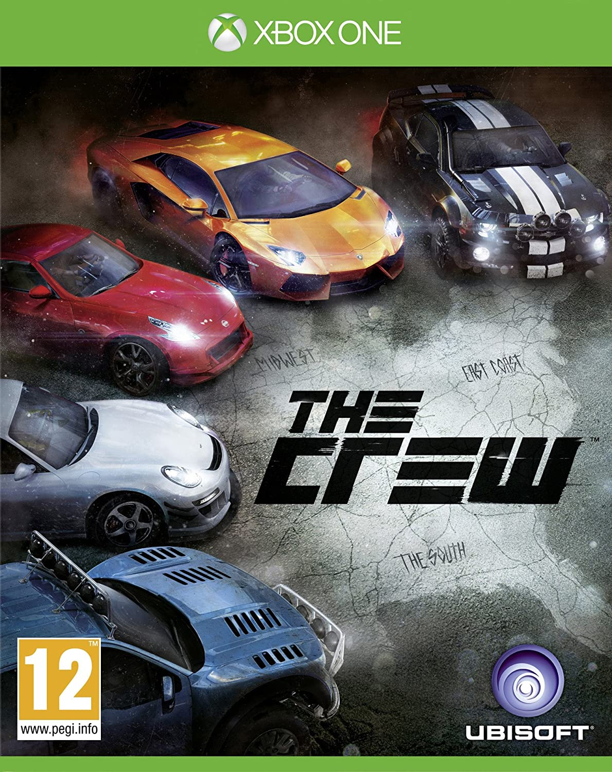 Ubisoft The Crew, Xbox One Xbox One Inglés vídeo - Juego (Xbox One ...