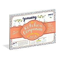 The Kitchen Companion Page-A-Week Calendar 2018
